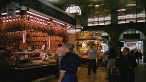 mercado central stalls in valencia