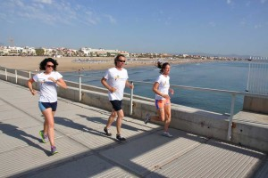 valencia city by the sea running sightseeing tour